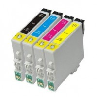 Epson Teddy T0615 Full Set Compatible Ink Cartridges BCMY