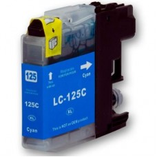 Brother LC125XL Cyan High Capacity Compatible Cartridge