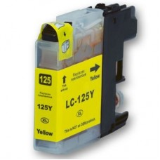 Brother LC125XL Yellow High Capacity Compatible Cartridge