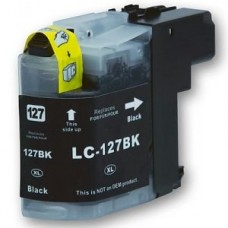Brother LC127XL Black High Capacity Compatible Cartridge
